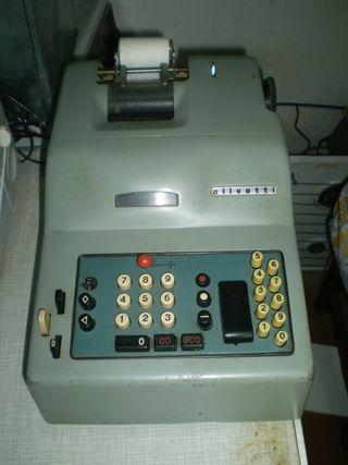 Maquina de sumar antigua