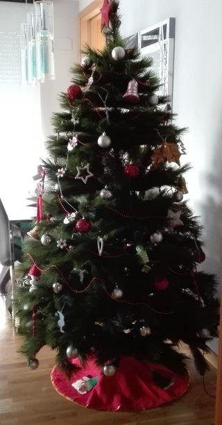 Arbol de Navidad Montgomery Luxe 180 cm