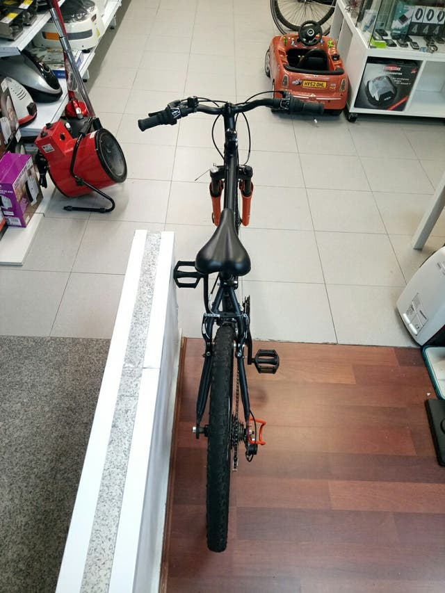 "Bicicleta 24"" Btwin Rockraider Five two Junior"