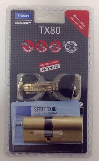 Bombin de seguridad tesa Tx80 30x40 laton nuevo