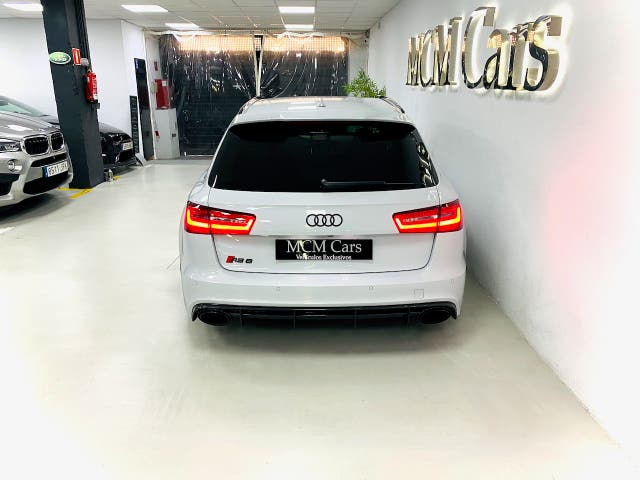 Audi RS6 Avant 4.0 TFSI 560cv quattro 2013