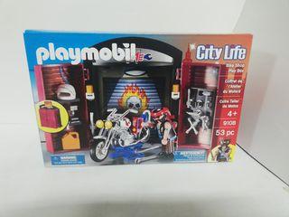 Playmobil 9108 taller de motos