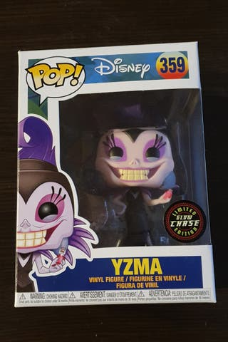 Funko Pop exclusivo Yzma Brillante chase