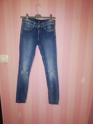 jeans replay nuevos talla 25