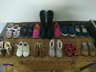 lote 12 pares de zapatos