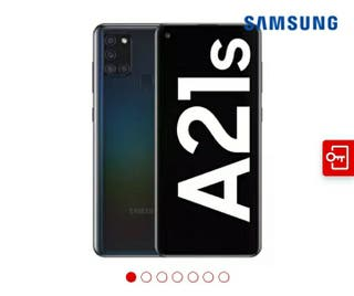 Samsung a21s nuevo sin uso