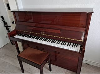 Piano vertical (de pared) marca Lauper marrón