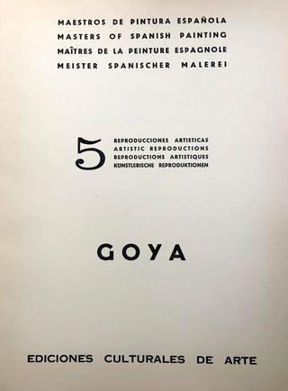 Cuadros Goya 5 Reproducciones artísticas