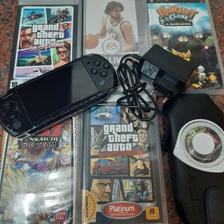 PLAY STATION PORTABLE .PSP 3004 + JUEGOS