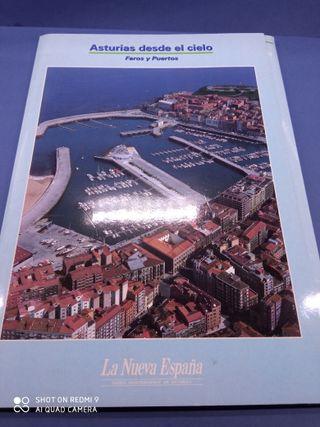 Asturias desde el Cielo. Faros y Puertos