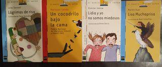 Colección del libro editorial BARCO DE VAPOR