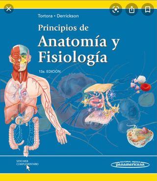 Libro Anatomía y fisiología Panamericana