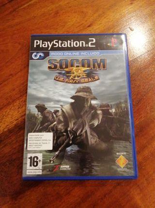 SOCOM U.S. NAVY SEALS para PlayStation 2