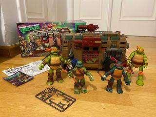 Autocaravana Tortugas Ninja +REGALO 3 figuras