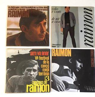 RAIMON 4 Discos Vinilo EP