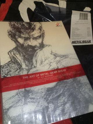 Artbook de Metal Gear Solid de Yoji Shinkawa