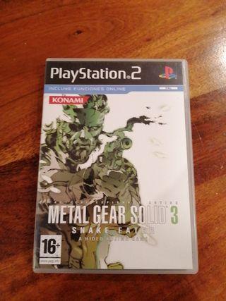 METAL GEAR SOLID 3 para PlayStation 2
