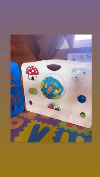 Parque infantil paneles