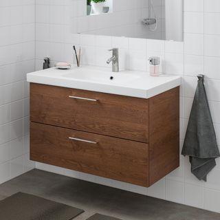 Muebles baño lavabo IKEA