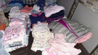 Lote ropa bebe niña de 9 a 18 meses