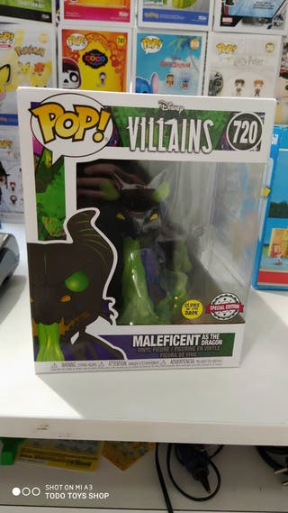 FUNKO POP - MALEFICATRANFORMADA EN DRAGÓN