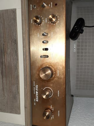 TELE MASTER STEREO AMPLIFIER AS 20