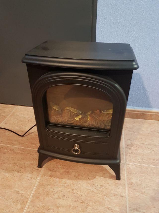 estufa imitacion fuego