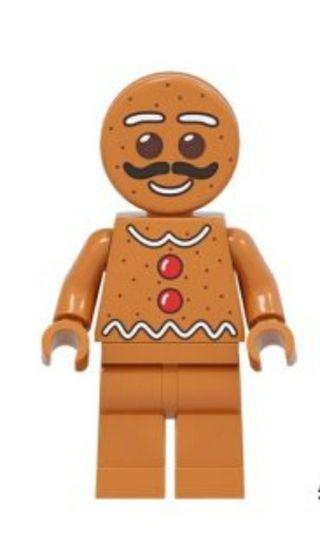 minifigura tipo lego galleta jengibre chico hombre