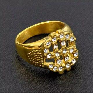 Anillo Dolar con diamantes