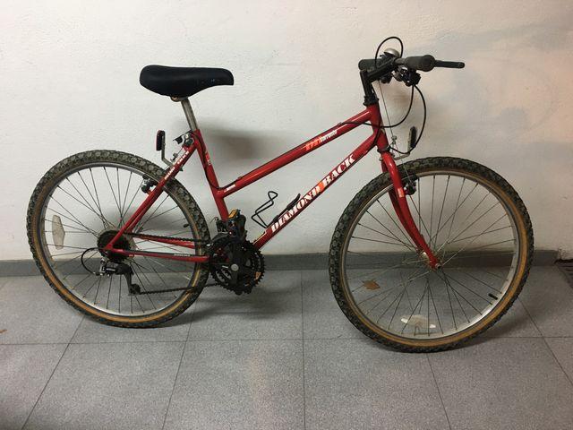 Bicicleta cambio 7 marchas shimano