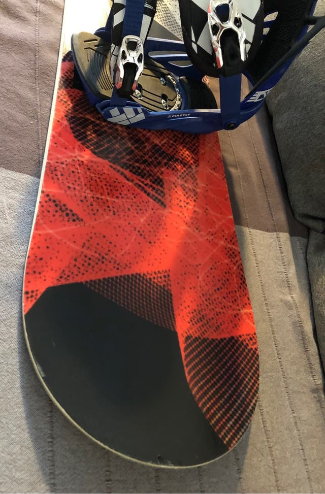 Tabla Snowboard Nitro + Fijaciones