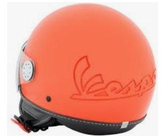 Casco Vespa visor 2.0 coral talla s