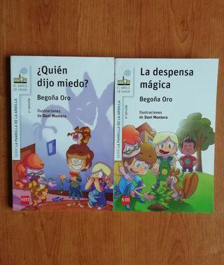 2 libros Serie la Pandilla de la Ardilla