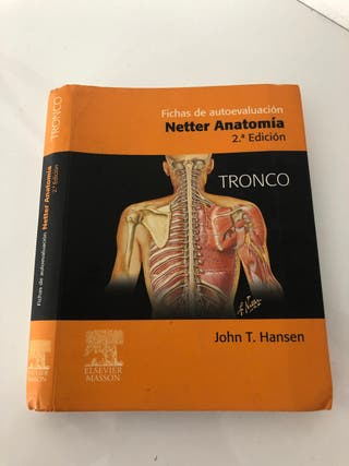 Netter anatomía. Fichas de autoevaluacion