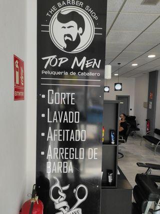 peluquería top men Estepona