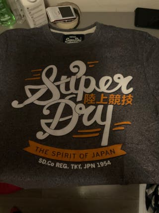 camiseta SUPERDRY original