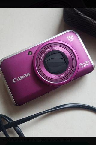cámara fotos semireflex Canon
