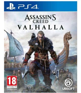 Assassin creed valhalla ps4