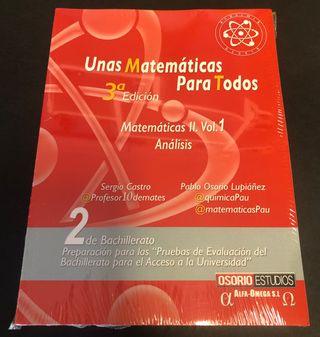 Libros de Matemáticas Bachillerato/Selectividad.