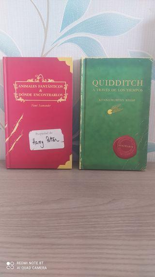 Libros 1ªedición Quidditch y Animales fantásticos