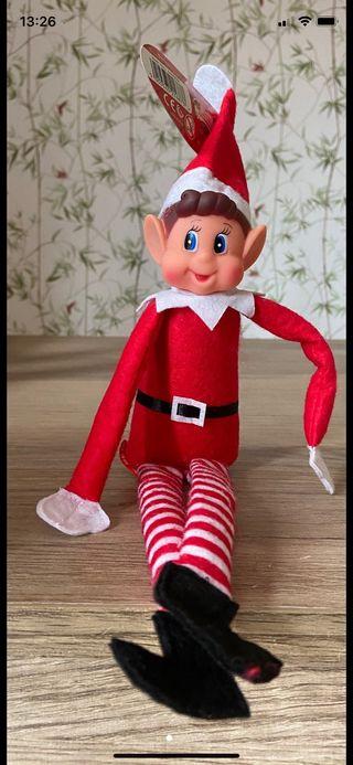 Elfo de la navidad
