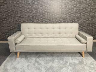 sofa cama beis - nuevo