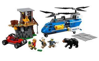 LEGO CITY 60173 ARRESTO MONTAÑA