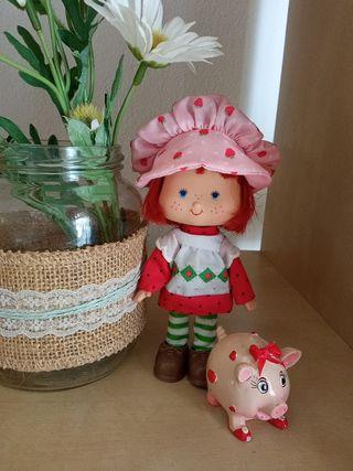 muñeca Tarta de Fresas