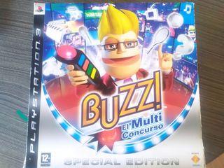 Juego Buzz + Mandos para PS3