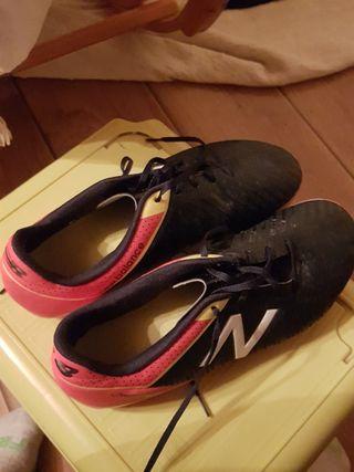 Botas de fútbol new balance