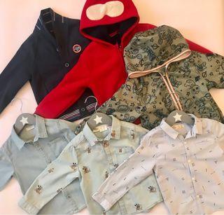 Pack ropa invierno niño 2/3 años 98 cmts y anorak