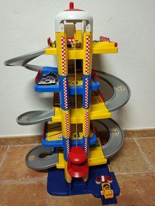 Parking Infantil Moltó 6 plantas
