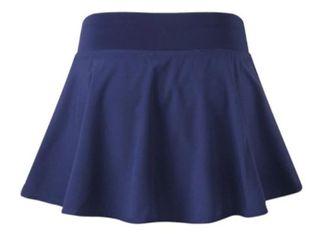 Falda de padel, tenis, badminton, con pantalon.