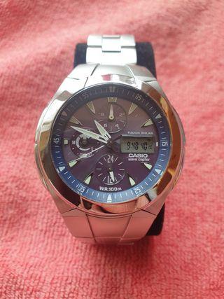 Reloj Casio Though Solar Waveceptor nuevo